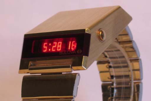 orologio led vintage