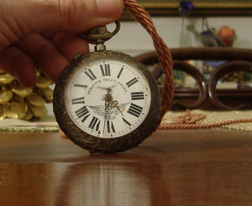orologi delle ferrovie