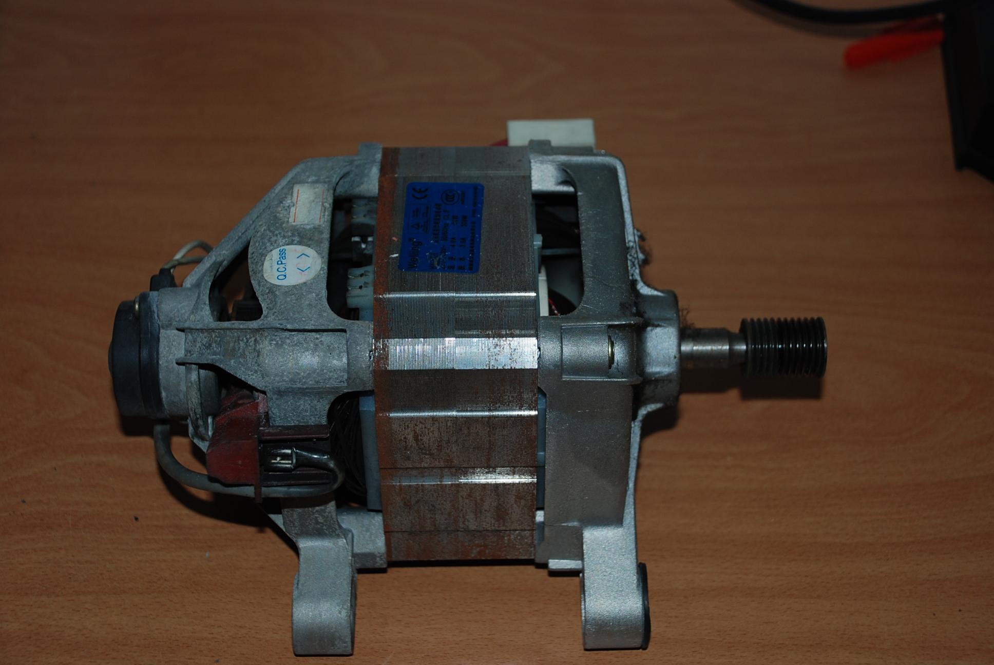 Schema Cablaggio Motore Lavatrice : Schema collegamento motore lavatrice